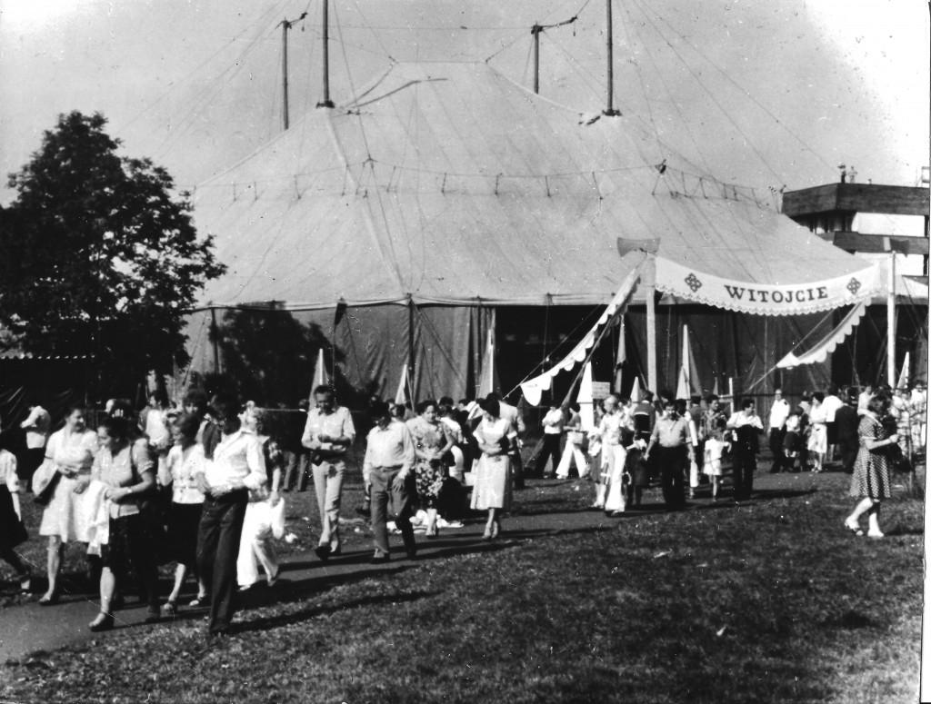 Namiot festiwalowy, 1979 rok, fot. R. Serafin