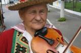 Bronisław Dudka skrzypek ze Zdziłowic (1918-2007), fot. Andrzej Wojtan