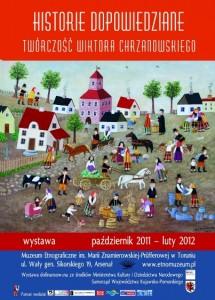 """""""Historie dopowiedziane"""". Wystawa twórczości Wiktora Chrzanowskiego"""