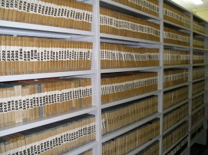 W archiwum fot. Zbiory Fonograficzne IS PAN