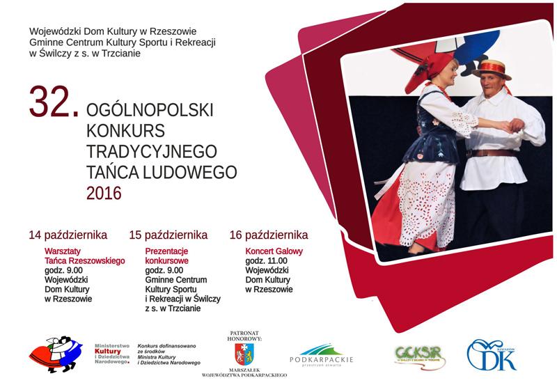32. Ogólnopolski Konkurs Tańca Tradycyjnego