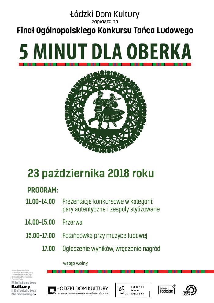 5 minut dla Oberka. Finał Ogólnopolskiego Konkursu Tańca Ludowego