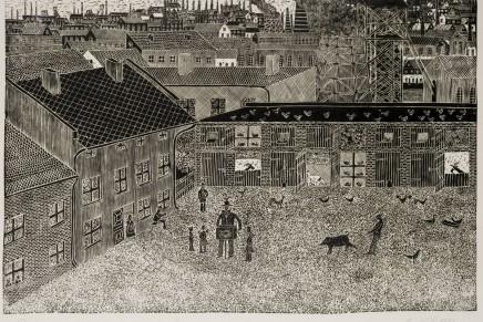 """Wystawa grafik śląskich twórców nieprofesjonalnych """"Czarno-biały świat"""""""