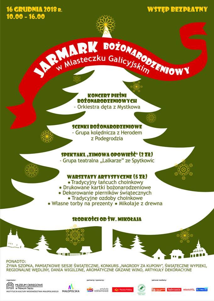 Jarmark Bożonarodzeniowy w Miasteczku Galicyjskim