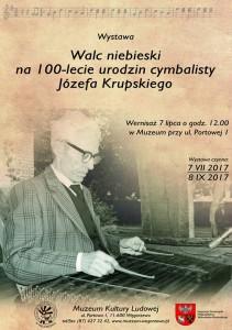 Walc niebieski na 100- lecie urodzin cymbalisty Józefa Krupskiego