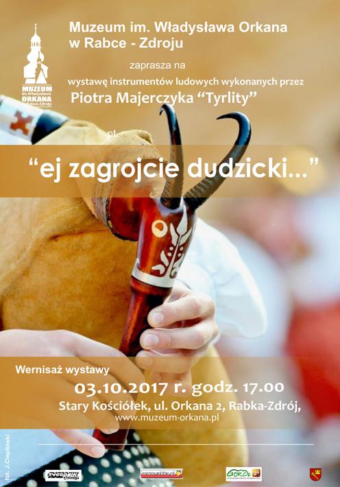 """""""Ej zagrojcie dudzicki..."""" – Piotr Majerczyk konstruktor instrumentów ludowych"""