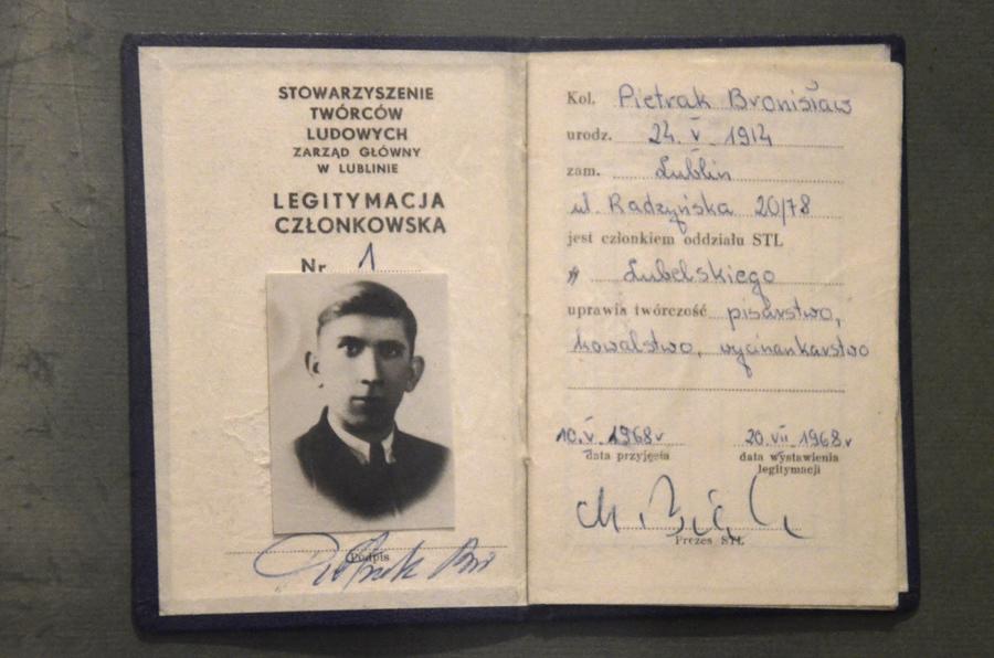 Bronisław Pietrak, fot. Archiwum STL