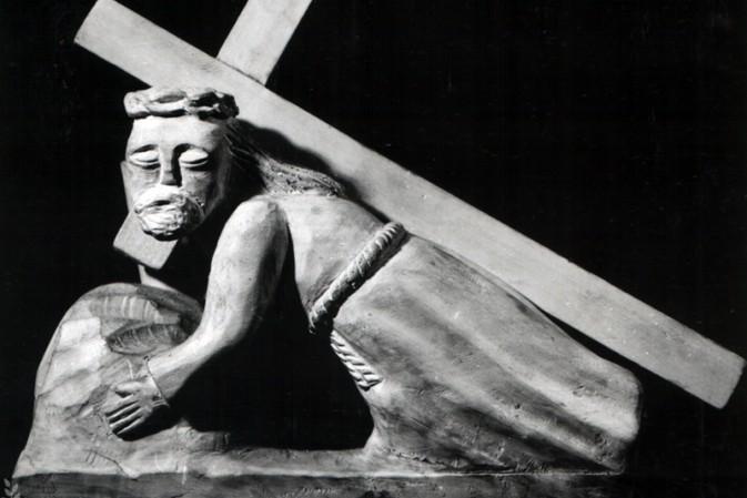 Chrystus padający pod krzyżem