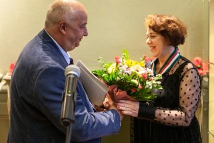 Złoty Medal Gloria Artis dla Elżbiety Berendt – kierownika Muzeum Etnograficznego