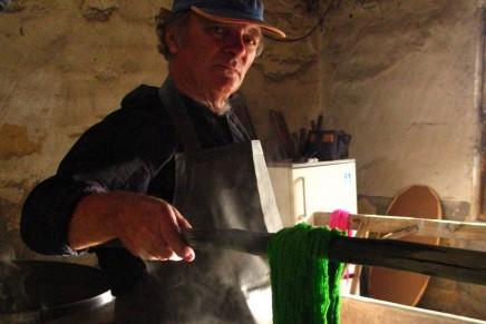 Dawna farbiarnia wełny w Rzeczycy po wielu latach znów otwarta