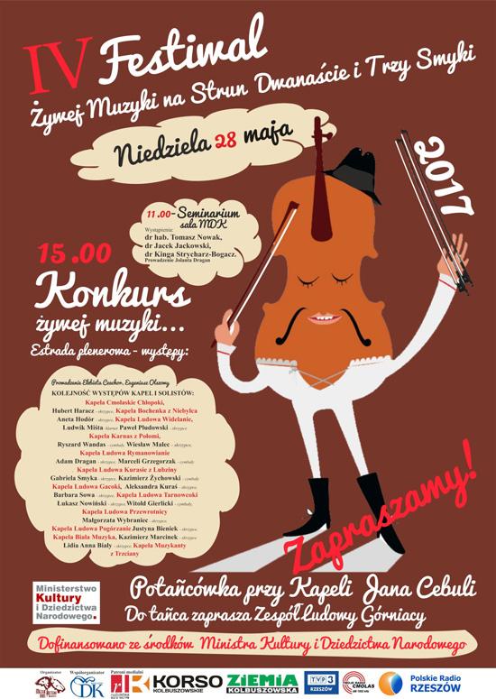 IV Festiwal Żywej Muzyki na Strun Dwanaście i Trzy Smyki