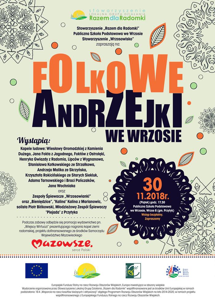 Folkowe Andrzejki – Potańcówka przy muzyce radomskiej