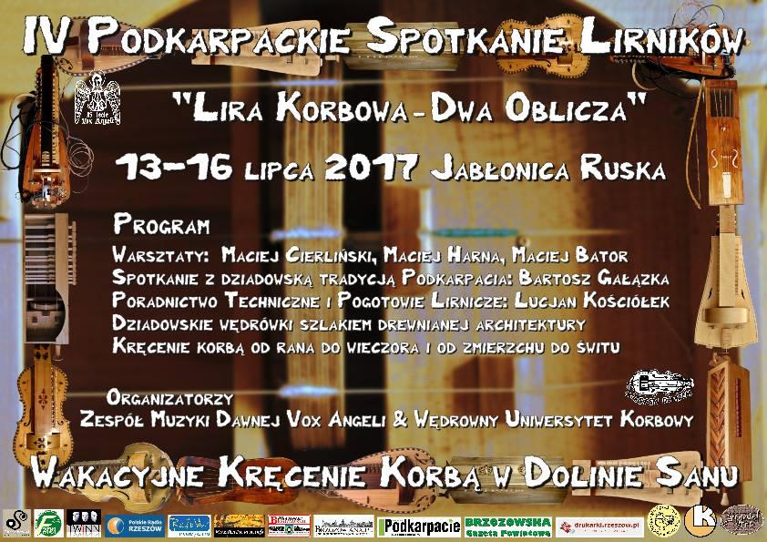 """IV Podkarpackie Spotkanie Lirników """"Lira Korbowa - Dwa Oblicza"""""""