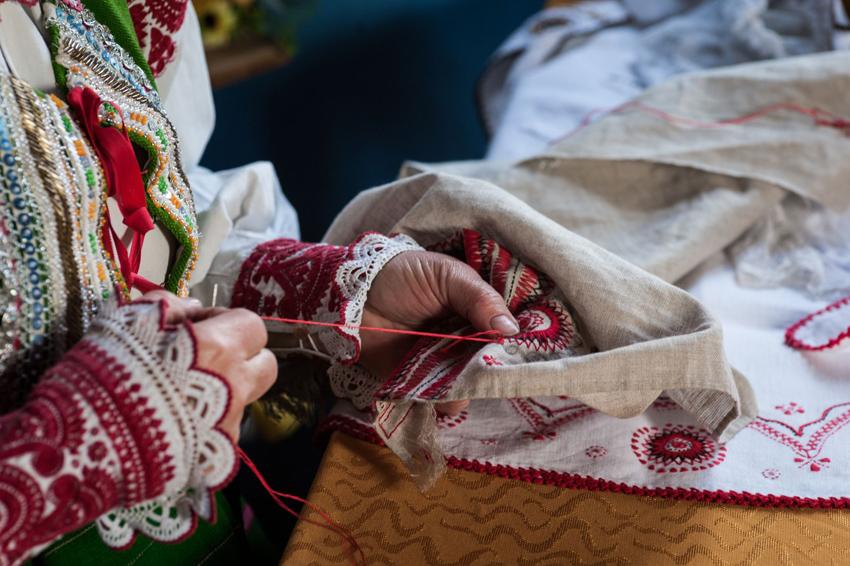Letnia Szkoła Haftu Tradycyjnego fot. M. Pietrusza