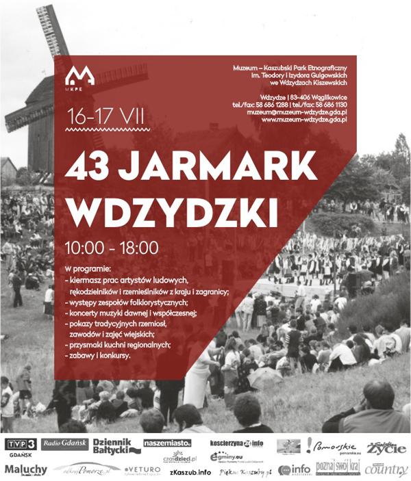 43. Jarmark Wdzydzki