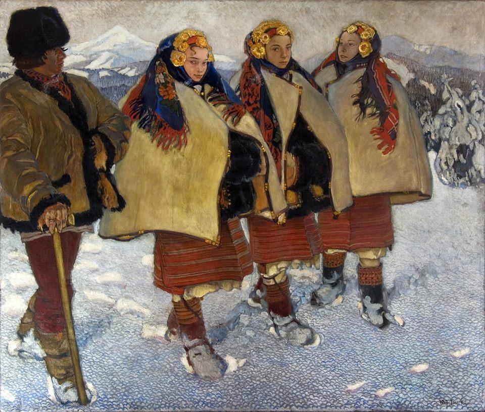 Byle polska wieś spokojna. Motywy folklorystyczne w malarstwie