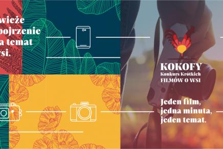 Włącz kamerę, aparat fotograficzny lub telefon komórkowy i nagraj film o tematyce wiejskiej