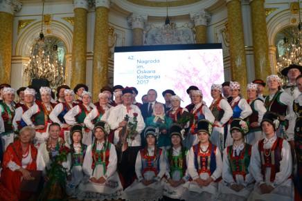 Wręczono nagrody im. Oskara Kolberga za zasługi dla kultury ludowej