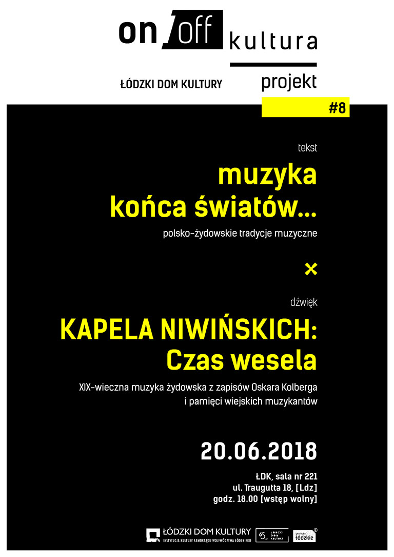 """Czas wesela"" – Koncert Kapeli Niwińskich"