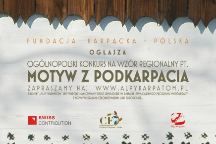 """""""Motyw z Podkarpacia"""" – konkurs na wzór regionalny"""
