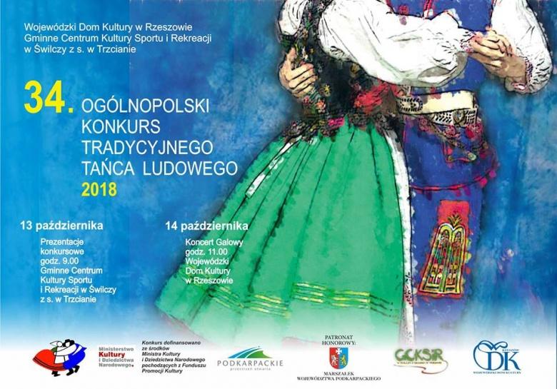 Konkurs Tradycyjnego Tańca Ludowego w Trzcianie