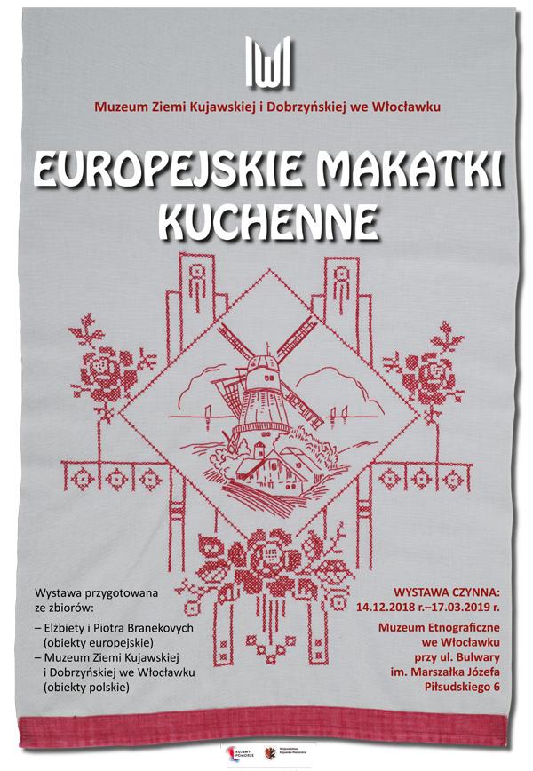 """Wernisaż wystawy """"Europejskie makatki kuchenne"""""""