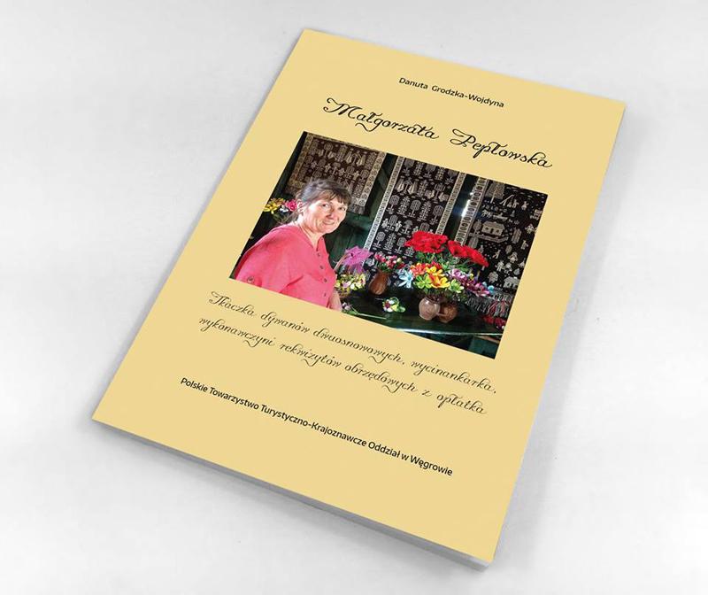 Promocja książki o Małgorzacie Pepłowskiej - twórczyni ludowej z Podlasia
