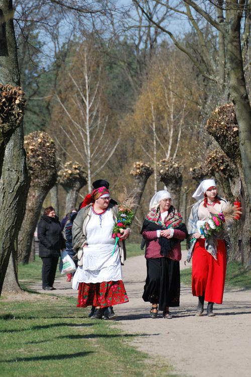 Niedziela Palmowa w  Muzeum Wsi Mazowieckiej w Sierpcu fot. D Krześniak