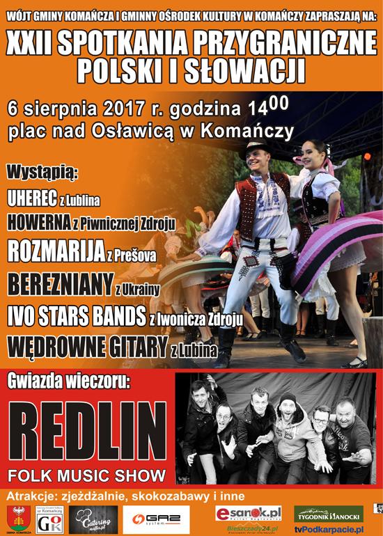 XXII Spotkania Przygraniczne Polski i Słowacji 2017