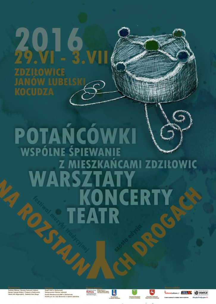 Festiwal Na rozstajnych drogach 2016 - plakat