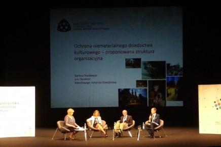 Dziedzictwo niematerialne na Ogólnopolskiej Konferencji Kultury