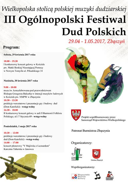 III Ogólnopolski Festiwal Dud Polskich