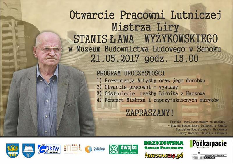 Otwarcie Pracowni Lutniczej Mistrza Liry Stanisława Wyżykowskiego