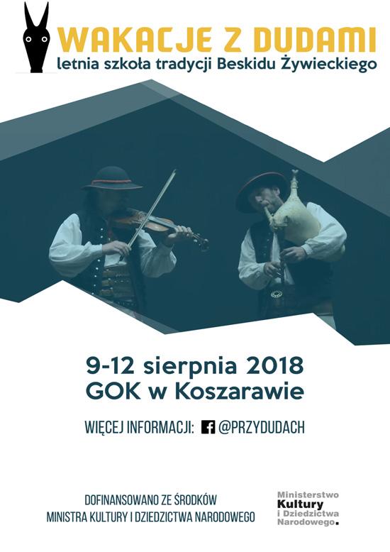 Wakacje z dudami – letnia szkoła tradycji Beskidu Żywieckiego