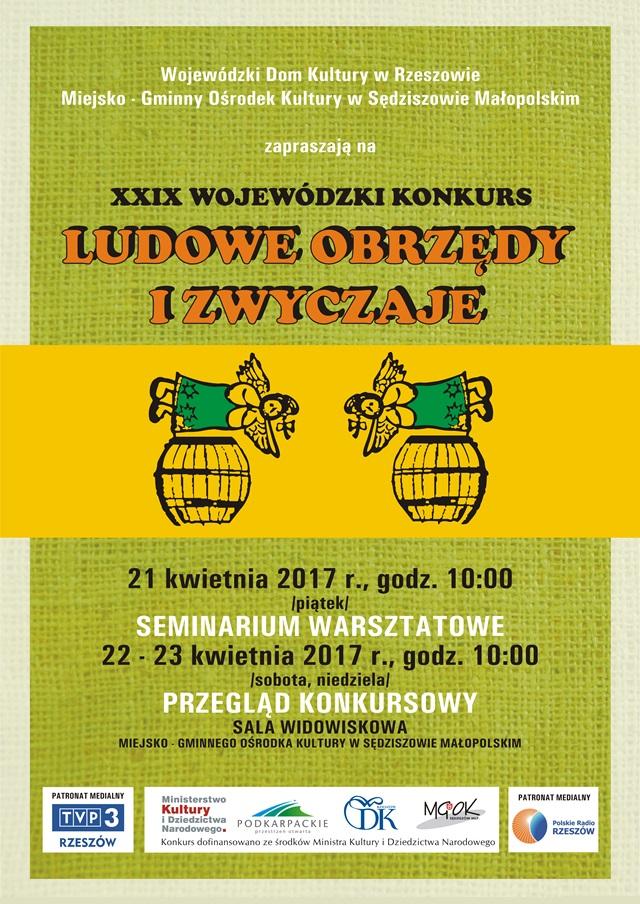 plakat_obrzedy_i_zwyczaje_ludowe