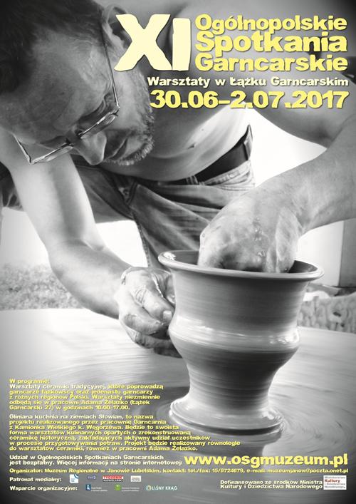 XI Ogólnopolskie Spotkania Garncarskie, Łążek Garncarski 2017