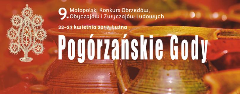 """9. Małopolski Konkurs Obrzędów, Obyczajów i Zwyczajów Ludowych """"Pogórzańskie Gody"""""""