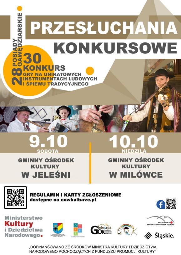 29. Posiady Gawędziarskie oraz 30. Konkurs Gry na Unikatowych Instrumentach Ludowych i Śpiewu Tradycyjnego
