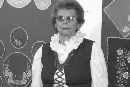 Zmarła Regina Majchrzak – mistrzyni haftu kujawskiego