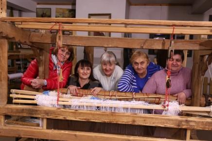 Fascynujące tkactwo. Powarsztatowa wystawa sejpaków w Suwalskim Ośrodku Kultury
