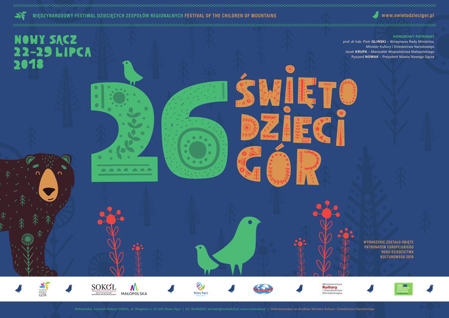 26. Międzynarodowy Festiwal ŚWIĘTO DZIECI GÓR