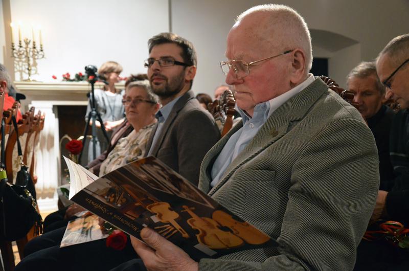 Stanisław Wyżykowski i Stanisław Nogaj, mistrz i uczeń - budowniczowie lir korbowych z Podkarpacia, fot. K. Butryn