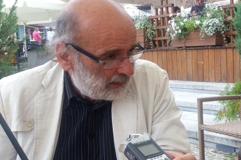 Wojciech Kowalczuk, etnograf, organizator Targów, kierownik Działu Etnografii Muzeum Podlaskiego w Białymstoku, fot. M. Graban-Butryn