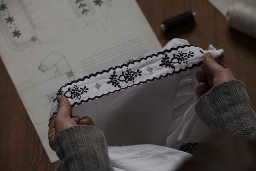 Warsztaty haftowania lasowiackich wzorów