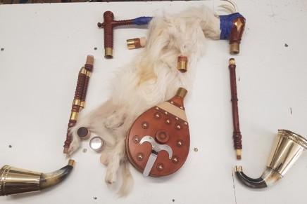 Warsztaty wyrobu tradycyjnych instrumentów ludowych Regionu Kozła