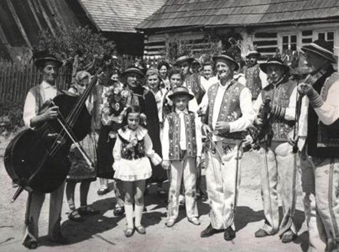 Wesele szczawnickie, fot. z archiwum Muzeum Pienińskiego w Szlachtowej