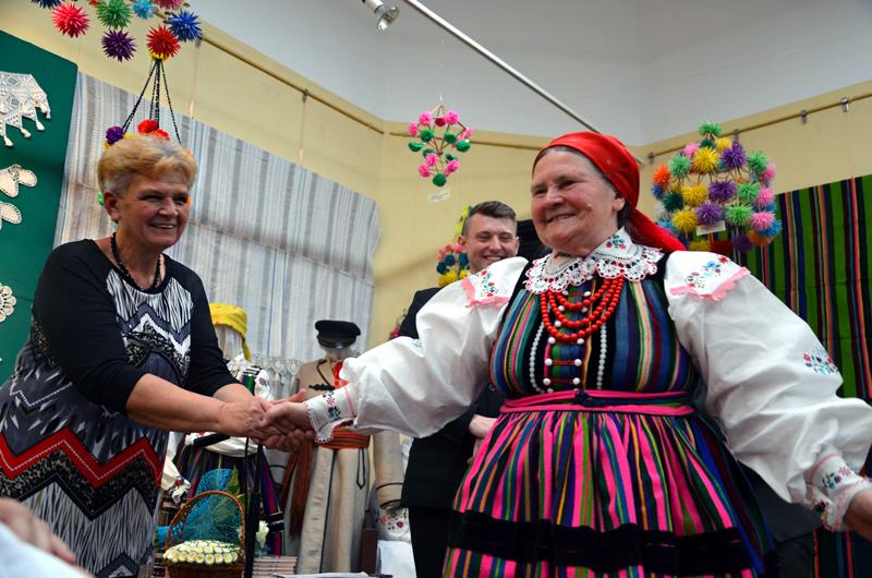 Od lewej: Wiesława Bogurat, Michał Pająk i , fot. K. Butryn