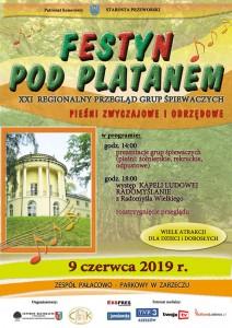 Festyn pod Platanem – 21. Regionalny Przegląd Grup Śpiewaczych