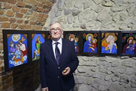 Zdzisław Słonina: rzeźbię i maluję z potrzeby serca. Artysta ze Świątnik Górnych świętuje 40-lecie pracy twórczej