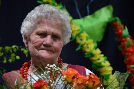 Zofia Sulikowska, śpiewaczka z Wojsławic świętuje jubileusz 70–lecia działalności artystycznej